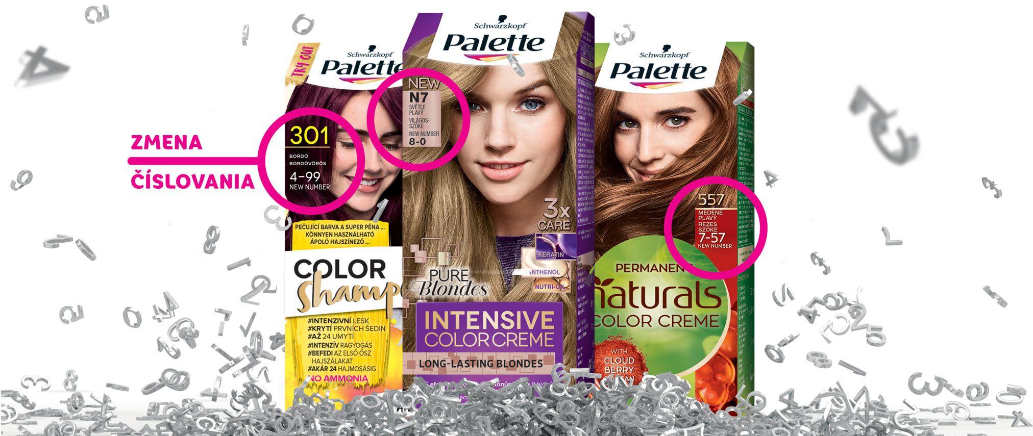 palette zmena cisla