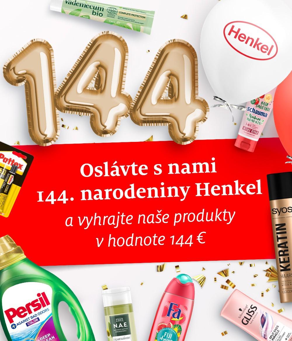 henkel 144 narodeniny mobil