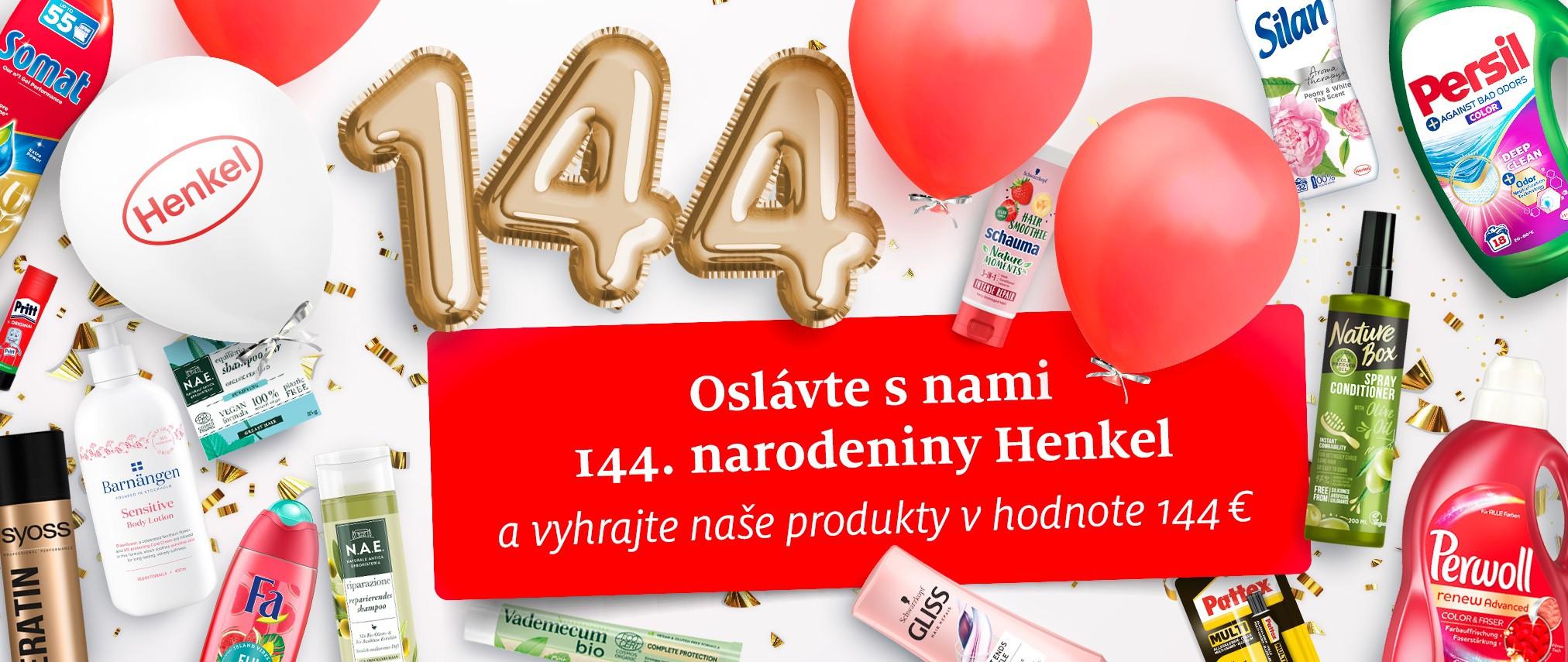 henkel 144 narodeniny